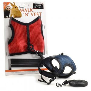 Small-n-Furry Walk-n-Vest-n-Leash